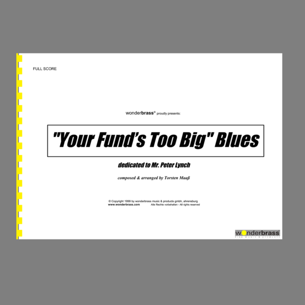 """YOUR FUND'S TOO BIG"" BLUES [bigband]"