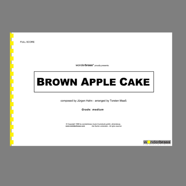 BROWN APPLE CAKE (medium) [bigband]