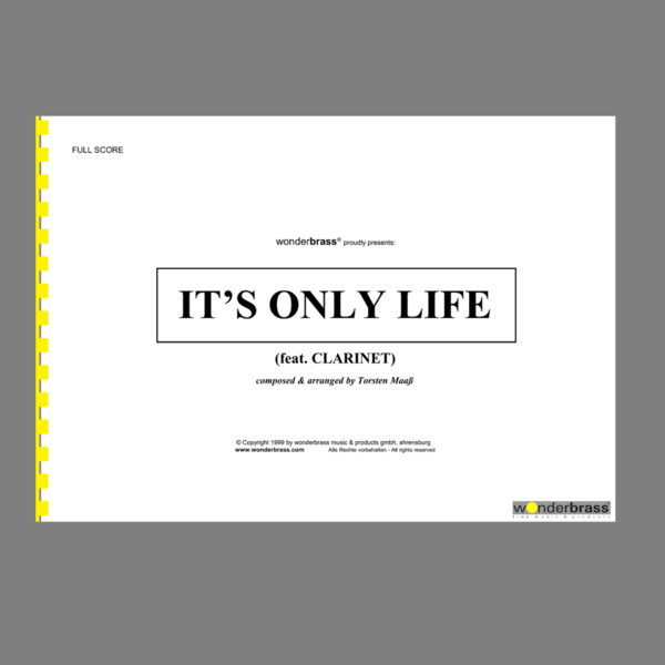 IT'S ONLY LIFE (feat. CLARINET) [bigband]